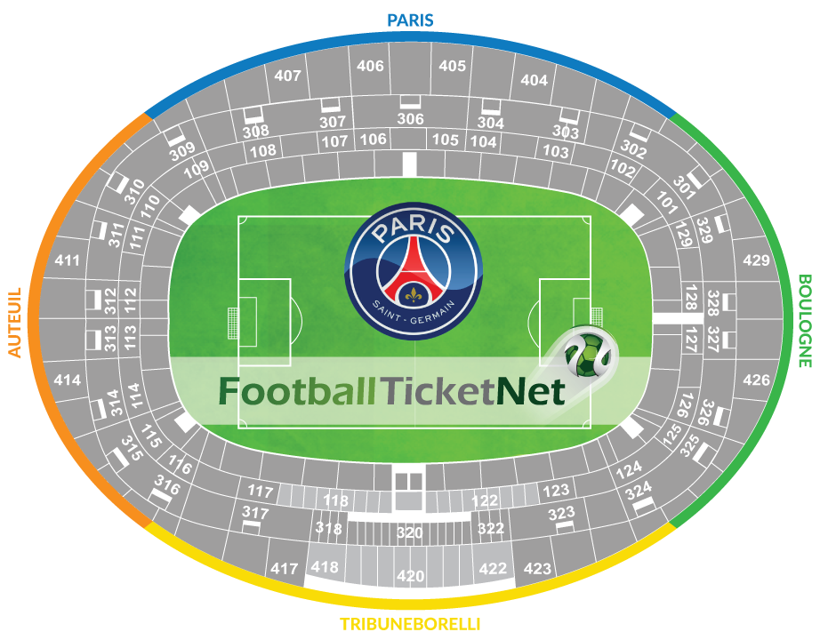 Paris Saint Germain Vs Olympique Marseille 17 03 2019 Football Ticket Net
