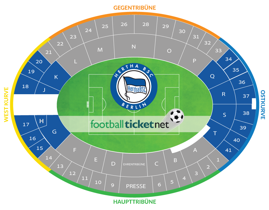 hertha berlin sc vs fsv mainz 05 02 03 2019 football ticket net. Black Bedroom Furniture Sets. Home Design Ideas