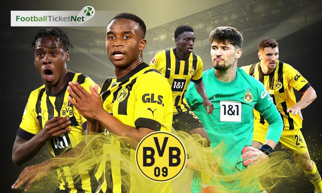 Dortmund biljetter. Borussia Dortmund 2018 19 ... e26b350af5019